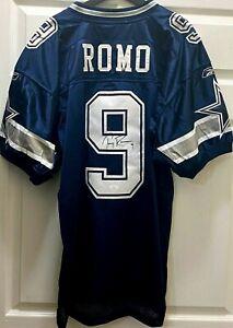 Tony Romo signed Dallas Cowboys 2005 2006 authentic Reebok stitched jersey (JSA)