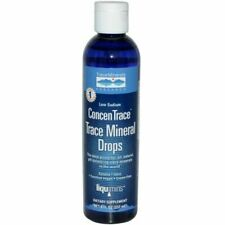 ConcenTrace Trace Mineral Drops 1/2 Fl.oz new sealed bottle ships same day!