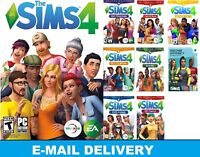 The Sims 4+18 DLC Collection|8 expansion packs| Digital Download Account|PC &MAC