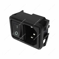 Universal AC Power Socket With Switch Rocker 2 IN 1/3 IN 1 for 10A Equipments