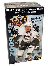 2009-10 Upper Deck Series 1 hockey cards Blaster Box with Oversize Card