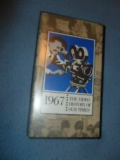 1967 VHS Tape Documentary The Video History Of Our Times Easton Press Universal