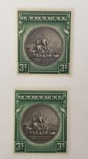 Bahamas Sg 132/132a Mint Cat £39