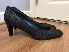 New Stuart Weitzman For Russell Bromley Check Print Court Shoes UK 7.5