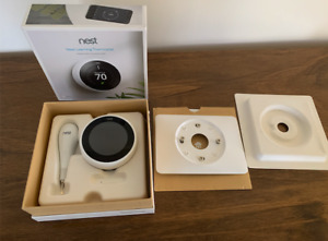 Nest T3017US 3rd Generation Programmable Thermostat - White