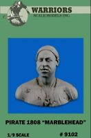 Warriors 1:9 Pirate 1808 Marblehead Resin Bust Figure Kit #9102