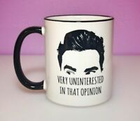 David Rose Very Uninterested Coffee Mug Schitt's Creek Gift Ew David Alexis