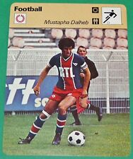 FOOTBALL MUSTAPHA DALHEB PARIS SAINT-GERMAIN PSG 1977-1978
