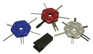 Lisle 57750 3pc Wire Terminal Tool Kit