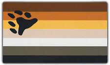 Bumper Stickers: BEAR PRIDE FLAG | International Bear Brotherhood | Gay Pride