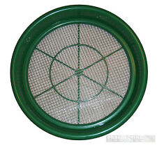"GOLD pan Prospecting CLASSIFIERs 1/4"" Steel Mesh sieve"