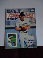 """Vintage """"Beckett Baseball Card Monthly"""" Magazine May 1986 Vol. 3 #4 Issue #17"""