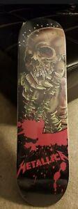 METALLICA Pushead 7.75 skate deck NEW sealed! Ultra rare! Death Magnetic