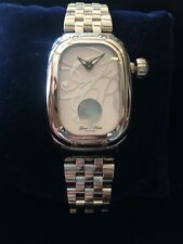 Glam Rock Monogram Stainless Steel Watch on Bracelet