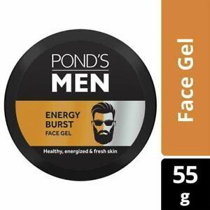 Pond's Men Energy Burst Face Gel,Gives you a energized and fresh skin 55 g