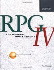 The Modern RPG IV Language by Robert, Jr. Cozzi (1996, Paperback)