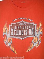 2005 65th Annual Sturgis SD Bike Week T-Shirt Adult XL Motorcycle Rally USA