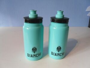 BIANCHI  WATER BOTTLE FLY LIGHTWEIGHT CELESTE x 2