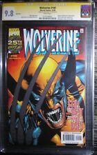 Wolverine (1988) 145 CGC SS 9.8 NM/MT silver foil return of adamantium Leinil Yu