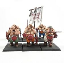 Warhammer Fantasy Age of Sigmar Army Ogre Kingdoms Ogres x6  Painted
