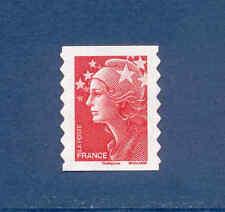 Timbre Y&T n°175 Marianne de Beaujard sans valeur rouge autoadhésif neuf**