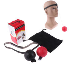 Boxing Training Fight Ball Reflex Speed Reaction Punch Combat Exercise Muscle C0