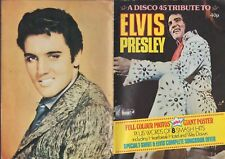 Disco 45 Tribute To Elvis Presley Magazine 1977