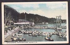 Circa 1915-1930 Vintage Postcard Water Sports North West Arm HALIFAX Nova Scotia