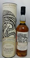 Haus Targaryen Game of Thrones  Cardhu Gold Reserve Single Malt Scotch Whisky
