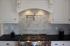 Carrara Honed 3x6 Marble Tile - 100 Sq/Ft