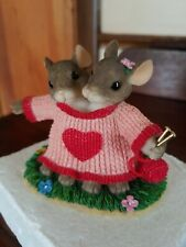Charning Tails - We'Re A Perfect Fit - Nib #84/111 Valentine'S Figurine