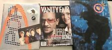 U2 And Bono Lot: Concert Programs And Vanity Fair Issue