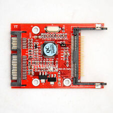 """CF Compact Flash Type I/II to 2.5"""" SATA Serial Adapter Compatible with DOS best"""