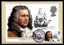 Admiral Robert Blake (1599-1657). Maximumkarte. Großbritannien 1982
