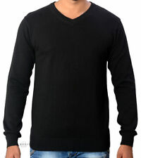 V Neck Regular Plain Hoodies & Sweats for Men
