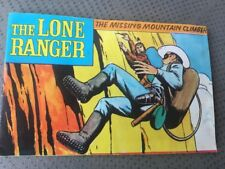 1973 LONE RANGER MINI COMIC, HUBLEY PLAYSETS, THE MISSING MOUNTAIN CLIMBER