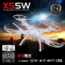 New Syma X5SW 2.4GHz 4-Axis Aircraft Gyro RC Quadcopter Drone Helicopter Camera
