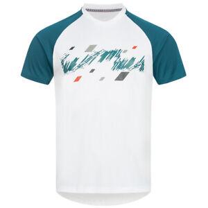 ASICS Club Graphic Herren Tennis Sport Freizeit Shirt 130235-0001 Gr. M weiß neu