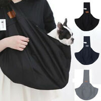 Haustier Hund Katze Atmungsaktiv Träger Schulter Tasche Sling Gepolstert Band