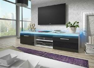 Rtv Lowboard Television Sideboard Wall High Gloss Base Cabinet TV LED TV Cabinet