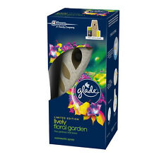 Glade Automatic Spray Gadget Lively Floral Garden 269ml - Stone Coloured Unit