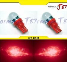 LED 5050 Light 168 Red Two Bulbs Side Marker Map Step Door Parking Trunk Dome