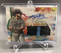 MICHAEL BROSSEAU 2020 Topps Inception Rookie AUTO Relic /155 Tampa Bay Rays