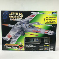 Star Wars POTF Luke Skywalkers Red Five X-Wing Fighter FX Kenner 1997 NEW 69784