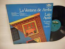 Lalo Ayala y Su Conjunto La Ventana de Arriba 1973 Normex LP VG+ Norteno Tex-Mex