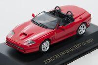 Ferrari 550 Barchetta red, IXO FER020, scale 1:43, adult car model gift