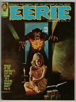 1973 Eerie #48 Warren Magazine Begin Mummy Walks & Curse of the Werewolf - VF+