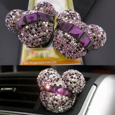 2 Pcs Mickey Mouse Car Fragrance Air Freshener Auto Vent Perfume Diffuser