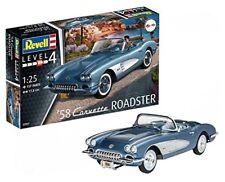 '58 Corvette Roadster 1 25 Rev07037 - Revell modellismo