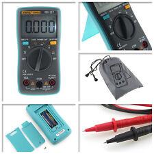Digital LCD Multimeter Backlight AC/DC Auto Range Ohm Ammeter Temperature Tester